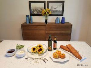 sunflower beet brushetta ingredients