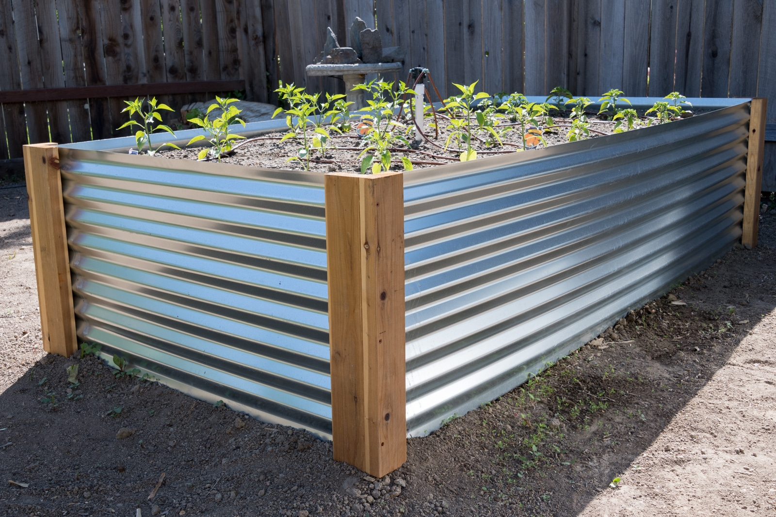 How To Build A Corrugated Metal Raised Bed Mk Library