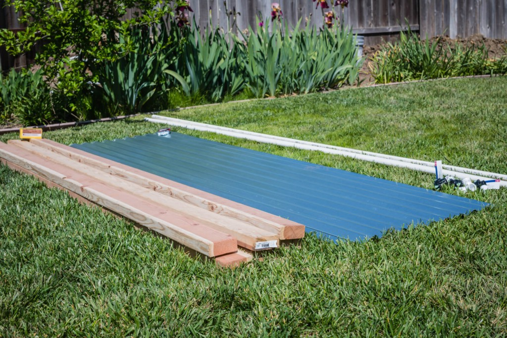 How to build a corrugated metal raised bed mk library - Safest material for raised garden beds ...