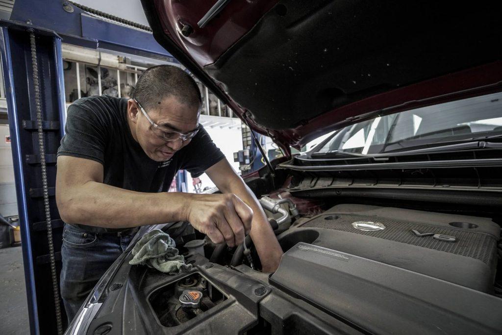 Take the vehicle to a reputable mechanic