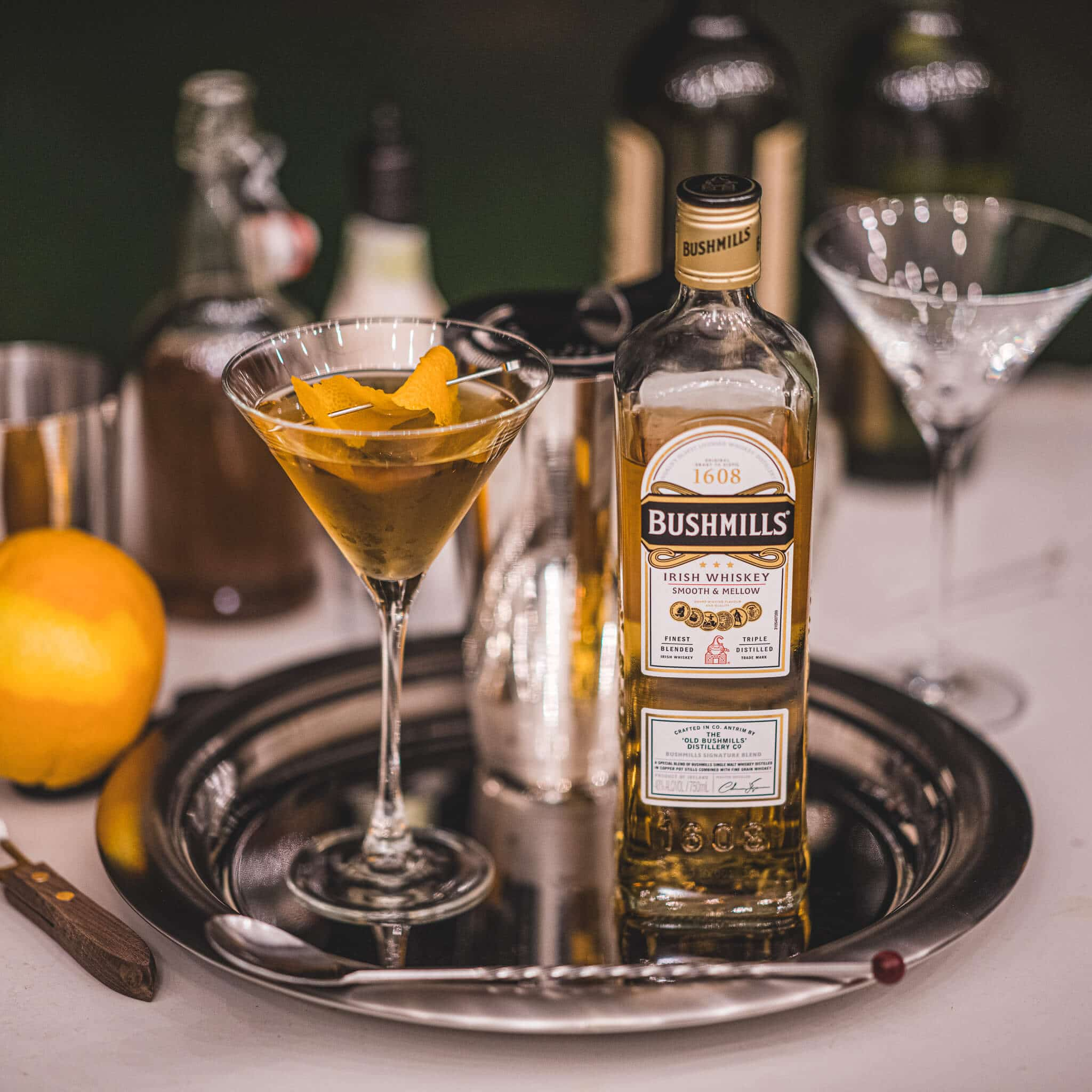 Tipperary Cocktail Recipe featured