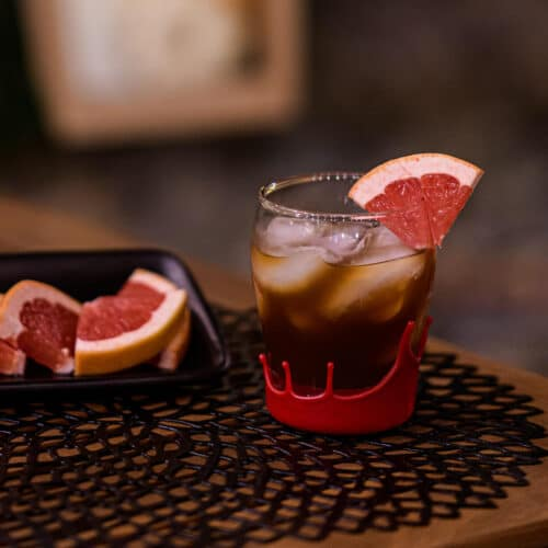 Fright night in the grove cocktail recipe featured